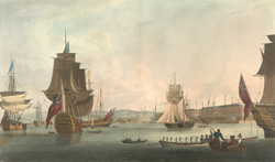 The Royal Dockyard at Portsmouth